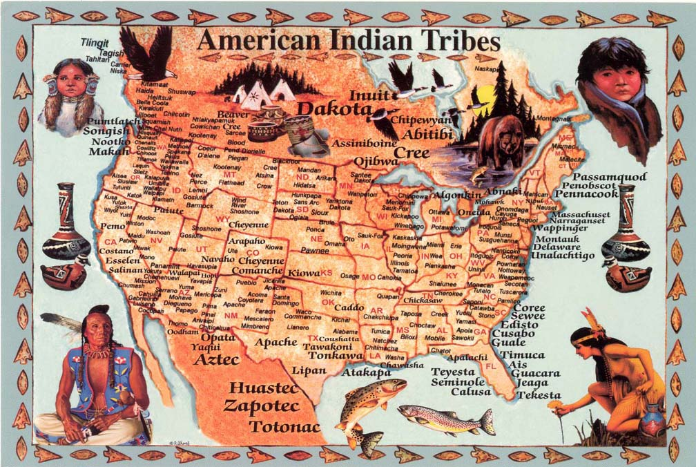American Indian Tribes ThingLink